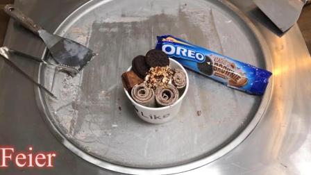 清凉一夏, 堪比DQ暴风雪的奥利奥口味冰淇淋, 自制巧克力冰激凌!