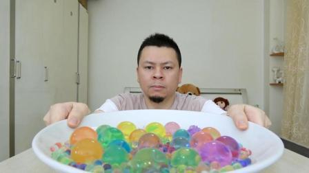 """试玩超大的""""霸王珠"""", 头一回见这么大的, 这不就是泡大珠吗?"""