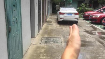 路面狭窄车位狭小, 如何倒车入库? 掌握这个方法新手秒变老司机
