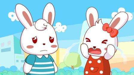 兔小贝安全教育动画 第三季 安全玩耍气球 安全玩耍气球