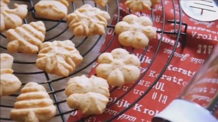 网红小熊饼干的复刻版, 酥松的牛油小饼干