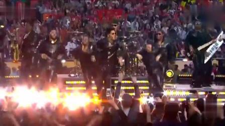 火星哥和天后碧昂丝现场演唱吃鸡神曲《Uptown Funk》, 这画面太美!