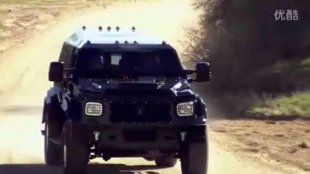 骑士XV重型防弹越野车 31万美元 Conquest_Knight_XV