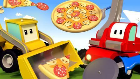 和迷你卡车学习 披萨店