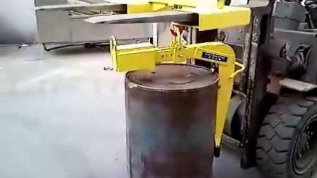 武汉汉利liftomatic HCB-1 单桶桶夹 吊车用油桶钢桶搬运夹具