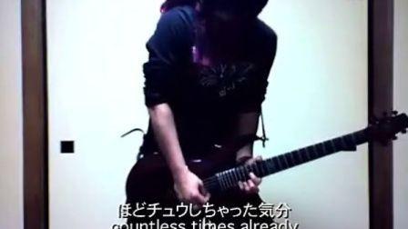 100万回のKISSES日本电吉他手