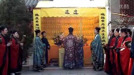 《清明节超度大法会》上(摄召安灵)-北京白云观