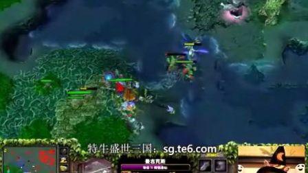 【Mirana解说】基地20血极限翻盘,炸弹逆袭神装敌法