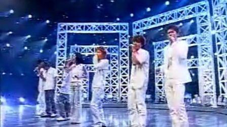 [SES紫色]Shoo(S.E.S)&V6-One 2002年日本TV歌谣现场