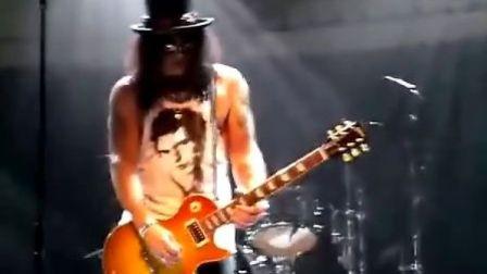Slash -GodFather Theme/《教父》主题曲 吉他solo (Live 2010)