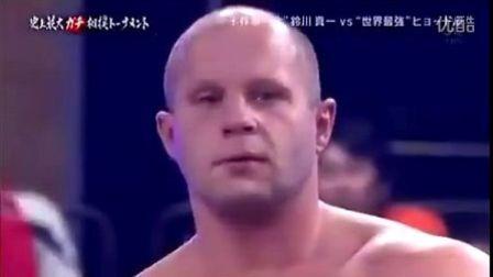格斗沙皇菲多挑战日本相扑 (2012年)
