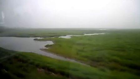 [拍客]800里洞庭湖成辽阔草原 环境破坏叫人愁