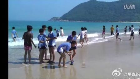 11【易虎臣视频】2012.4.10 富源学校 八6班 易虎臣 西涌海滩烧烤