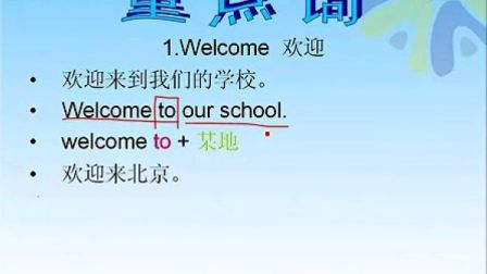 科普版小学英語四年級下学期Lesson 3视频王衡英語育英科技