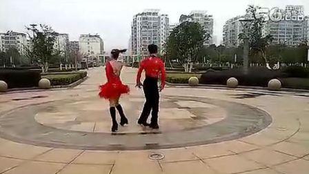 """2012年三步踩""""龍韻""""套路宴飛華和李承紅老師表演跳"""