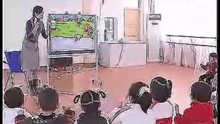 O04中班语言 故事:小兔子落水后(幼儿园中班主题教学优质课视频展示专辑)