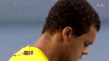 2010 澳网sf 费德勒vs特松加