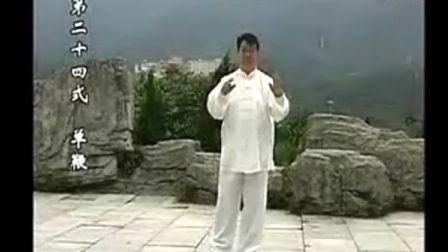 刘瑞先生2008年演练赵堡承架太极拳75式