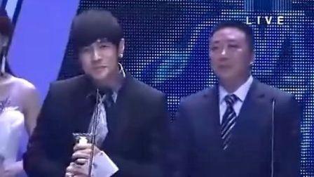 第十六届全球华语榜中榜颁奖礼 周杰伦 最佳数字音乐奖