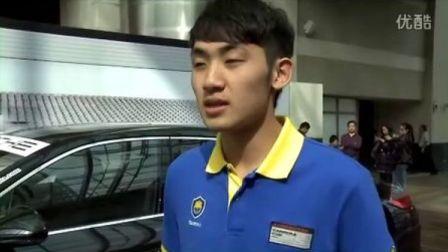 亚洲保时捷卡雷拉杯百泰车队中国车手张大胜专访