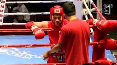 刘运VS艾合买提·阿不都克里木(2011年第四届泰拳比赛7月29日第十七场男子60KG)