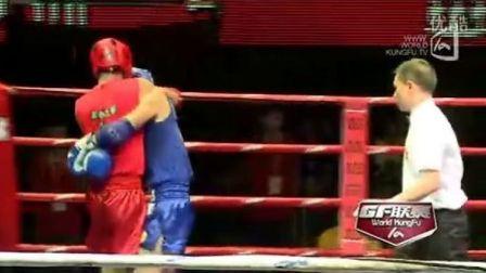史航VS邓业冬(2011年第四届泰拳比赛7月29日第二十场男子63.5KG)
