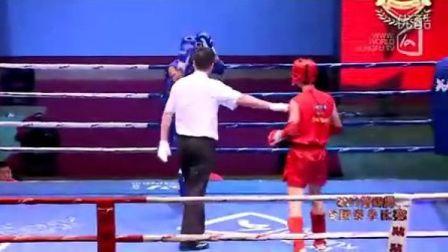 史航VS陈熙(2011年第四届泰拳比赛7月28日第二十二场男子63.5KG)