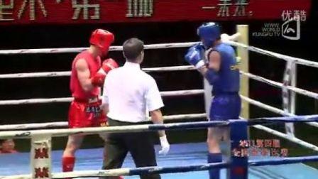 邱建良VS艾合麦提江·多力昆(2011年第四届泰拳比赛7月30日第十场男子71KG)