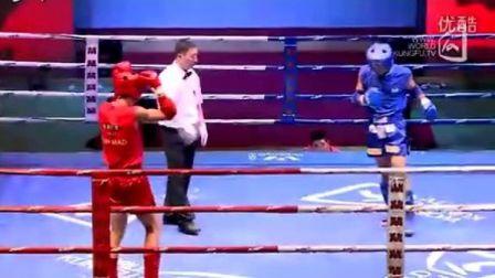王强VS董成强(2011年第四届泰拳比赛7月28日第二十五场男子67KG)