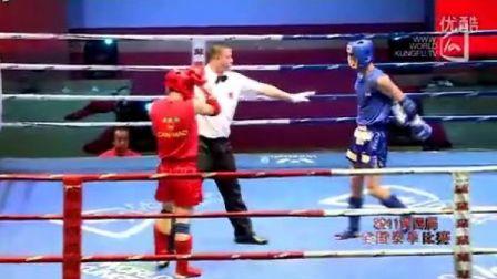 王万本VS王栋东(2011年第四届泰拳比赛7月29日第十九场男子63.5KG)