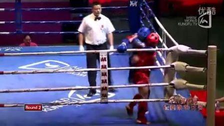 杨旭VS王文峰(2011年第四届泰拳比赛7月28日第十八场男子57KG)
