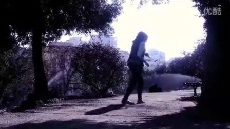 长发女孩 节奏感 很不错 墨尔本 曳步舞 鬼步舞