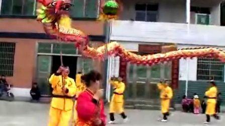 冷水江市禾青镇双星村女子艺术龙队