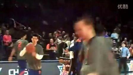 尼克斯VS黄蜂赛前林书豪热身