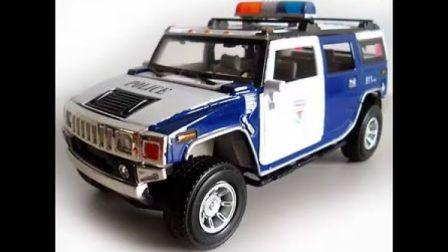 淘宝金酷娃玩具 悍马警车 合金汽车模型