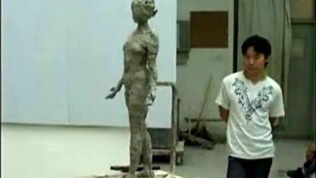 雕塑资源共享泥塑全身像