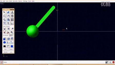 ADAMS欢乐教程2-单摆分析   史无前例  adams2010教程