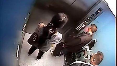 人肉搜索合肥政务区盗贼-悬赏1000元(男女二贼上电梯到18楼20120419)