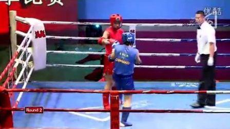依马木·局马洪VS张航(2011年第四届泰拳比赛7月30日第十二场男子75KG)