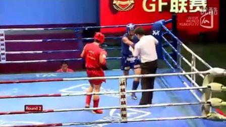 张帅VS耿豪君(2011年第四届泰拳比赛7月29日第二十六场男子75KG)