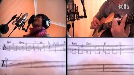 吉他弹唱 筷子兄弟 父亲 含手抄谱(蔡盛)