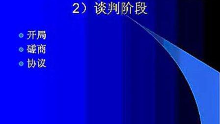 商务谈判(全33集)商务谈判04-郭政季丹