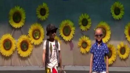 幼儿园儿童模特表演