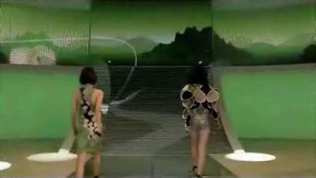 2008年北京国际车展大众汽车展台模特演出
