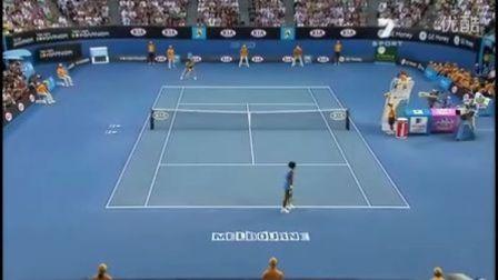 2009 澳大利亚网球公开赛 决赛 小威廉姆斯 VS 萨芬娜 (自制HL)