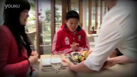 中国女足队长马晓旭奥克兰品美食