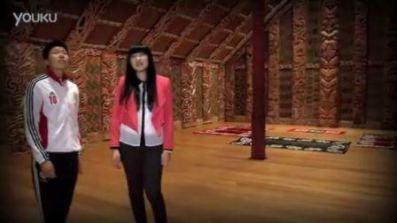 中国女足队长马晓旭奥克兰体验毛利文化