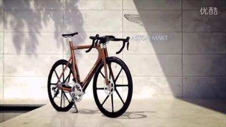"""两轮""""One-77"""" 阿斯顿马丁超级自行车 约25万元"""