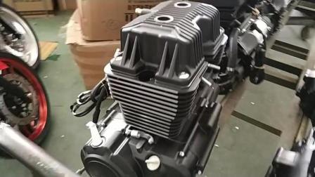内部实拍: 地平线摩托车发动机仓库