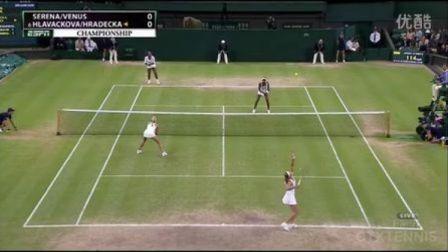 2012温布尔登网球锦标赛女双决赛 赛琳娜维纳斯VS赫拉德卡拉瓦科娃 (自制HL)
